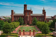 Though built 124 years apart, the Smithsonian Castle (1855) & Renwick Gates (1979) use stone from same Maryland quarry.