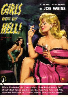 """Pulp Fiction cover, """"Girls Out Of Hell"""""""
