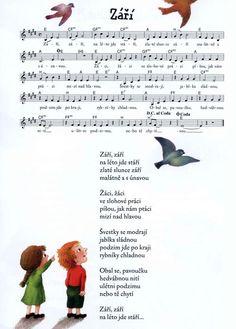 písničky pro děti - Hledat Googlem Music Do, Dinosaur Party, Poems, Preschool, Language, Activities, Teaching, Education, Greek Chorus