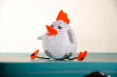 Areia: VIERNES DE CROCHET ! Rooster, Blog, Crafts, Animals, Inspiration, Friday, Biblical Inspiration, Manualidades, Animales