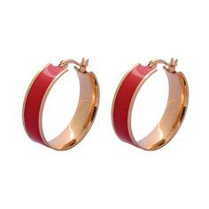 Enamel Plated Steel  Enamel Earrings #Bridal, #beautiful, #JewelryCollection