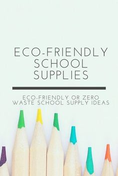 or Zero Waste School Supplies Eco-friendly or zero waste school supply ideas!Eco-friendly or zero waste school supply ideas! Hobbies To Try, Budget Planer, Eco Friendly House, Eco Friendly Products, Green Life, Sustainable Living, Zero Waste, School Supplies, Biodegradable Products