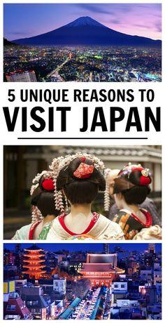 5 Unique Reasons to Visit Japan
