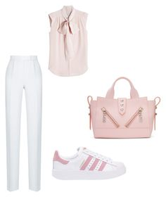 """pastell tuesday"" by szilvi-srei on Polyvore featuring Rasario, MaxMara, adidas Originals and Kenzo"