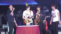 140517 cnblue can't stop in hk-celebrate jonghyun's birthday