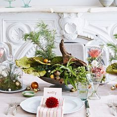 To put a fresh spin on getting in the holiday spirit, we tapped Michael and Darroch Putnam, the wildly talented duo behind the floral-design firm Putnam & Putnam. See how you can make your home feel like an extra-special winter woodland by trading tinsel and traditional bold hues for soft tones, organic textures, and lush accents plucked right from nature.
