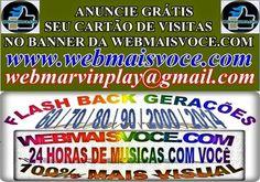 ANUNCIE GRÁTIS  SEU CARTÃO DE VISITAS  www.webmaisvoce.com www.twitter.com/marvintell  webmarvinplay@gmail.com  Web Reciclagem Marvin (41 9610-9611)