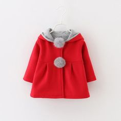 746e52ab3 Carter s Baby Girl 3D Ear   Heart Pocket Zip-Up Cardigan