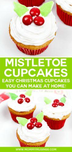 Mistletoe Cupcakes R