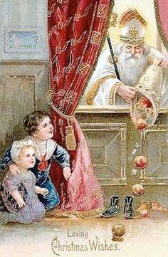 *Saint Nicolaas strooit kadootjes..     lb xxx.