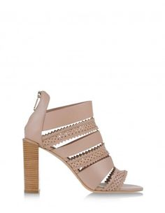 See by Chloe Perforated Light Pink Stars Sandal