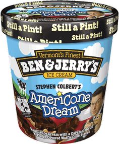Had to try Ben & Jerry's ice cream... Lived up to expectations. Love the pint size tub (much better than 1L size in Oz).