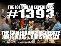 """James Wilks & Chris Kresser Debate """"The Game Changers"""" Documentary on The Joe Rogan Experience Reasons To Be Vegan, Paleo Nutrition, Smoking Effects, Spike Tv, Joe Rogan, Vegan News, Health Organizations, The Joe, Food Staples"""