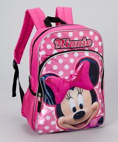 edb247e3ae1c Minnie Mouse Bow Backpack by Minnie Mouse  zulilyfinds