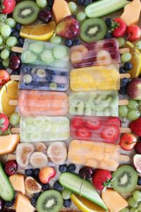 The Delicious Cook Healthy Summer Snacks, Easy Summer Meals, Get Healthy, Healthy Eating, Summer Food, Fun Easy Recipes, Summer Recipes, Frozen Desserts, Frozen Treats