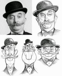 In my office and getting ready for the week, I thought you all might enjoy looking at these caricature artists. 1. Steven Silver ...