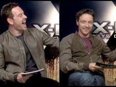 Michael Fassbender & James McAvoy's Funny Impressions - #funny #SirPatrickStewart #IanMcKellan