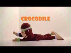 Vidéos PédaYoga démontrant des positions de yoga pour enfants.