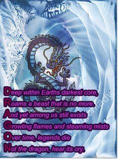 Dragon Poem BY VIOLETDRAGONLADY