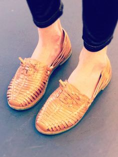 leather flats from bc footwear.  $70