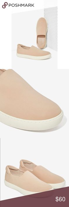 "Vince Camuto Distressed Canvas Slip-On Espadrille Vince Camuto Color: Beige Material: Fabric Upper And Rubber Outsole Measurement: 1"" Heel Width: B(M) Canvas The Vince Camuto Sneaker feature a Canvas upper with a Round Toe. The Rubber outsole lends lasting traction and wear. Vince Camuto Shoes Espadrilles"