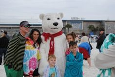 If you're up for a beach adventure, dive into the Gulf January 1st at the Annual Kiwanis Polar Bear Dip!