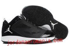 Acheter Chaussures Air Jordan 2011 Quick Fuse Noir/Blanc-Blanc Logo  JordanAeroMania.com