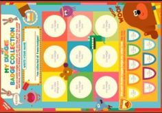 Hey Duggee, CBeebies show for years. Print this poster of all the Hey Duggee badges. Birthday Party Planner, 3rd Birthday Parties, Birthday Fun, Birthday Ideas, Harry Birthday, Party Activities, Toddler Crafts, First Birthdays, Party Time