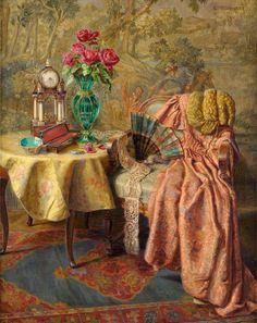 Still Life by Lea Reinhart (German 1877-1970)