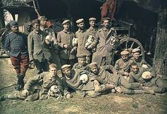 German prisoners of war, France, c. 1914
