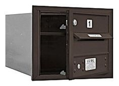 4C Horizontal Mailbox (Includes Master Commercial Lock) - 3 Door High Unit (13 Inches) - Single Column - 1 MB1 Door - Bronze - Front Loading - Private Access by Salsbury Industries. $154.78. 4C Horizontal Mailbox (Includes Master Commercial Lock) - 3 Door High Unit (13 Inches) - Single Column - 1 MB1 Door - Bronze - Front Loading - Private Access - Salsbury Industries - 820996412904
