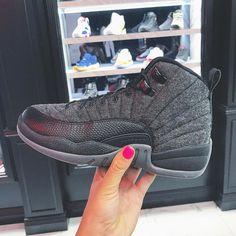 """Fall Favorites.  _ Air Jordan 12 Retro """"Wool""""   kickbackzny.com"""