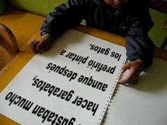 METODO DOMAN - .Método donde el alumno/a reconoce  primero las palabras de manera holística.Posteriormente y cuando ya reconoce  un montón, se pasa a enseñar a leer con el método tradicional de letras y sílabas