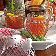 Hot Bourbon-Orange Tea Toddy | Festive Party Punch Recipes - Southern ...