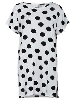 white polka-dot tunic www.bosco-design.com