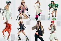 Kristy Kaurova is Sporty Chic for Kevin Sinclair's Madame Germany Shoot