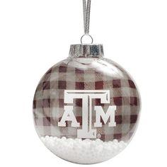 Texas A&M Aggies Flannel Ornament - $7.99