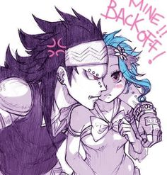 Gajeel Redfox & Levy McGarden(GaLe) - Fairy Tail,Anime