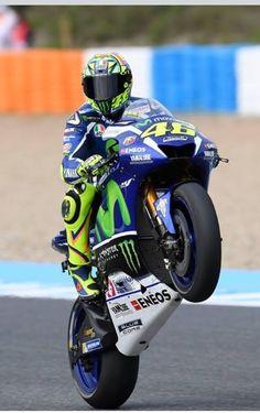Kwalificatie SpanishGP 1e Place Valentino Rossi