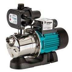 Onga JSM100 Water Pressure Pump: Equipped with electronic pressure control, the JSM range is designed for situations requiring strong, constant pressure. The JSM100 is made from precision moulded internal components with a strong, corrosion resistant stainless steel pump shell. Ideal for clean or rainwater in a 1 to 2 storey dwelling or similar with up to 3 taps or outlets. $696