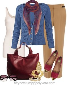 """""""Classics Update"""" by fiftynotfrumpy ❤ liked on Polyvore"""