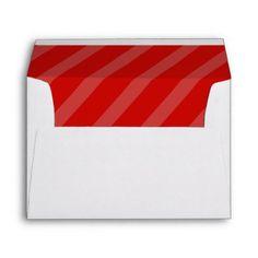 red stripes Envelopes A7 - Xmas ChristmasEve Christmas Eve Christmas merry xmas family kids gifts holidays Santa