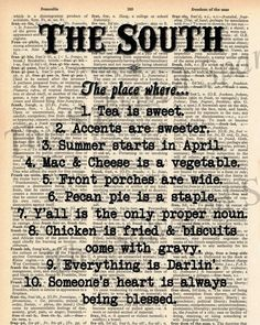 In the South… #Quotes | best stuff