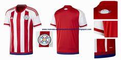 Nuevas camisetas de futbol 2014 2015 2016: Paraguay ya tienen sus camisetas adidas para la Copa América 2015