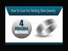 How To Care For Sterling Silver Jewelry #silverjewelry #SterlingSilverCare  #SilverJewelry