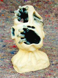 escultura em cerâmica