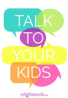 Talk to your kids - It's simple but it's one of the best parenting tools you've got #parenting #tips