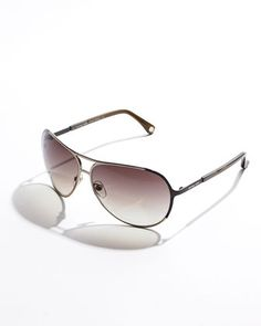 Michael Kors Presidio Aviator Sunglasses.