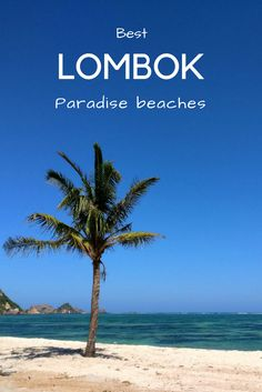 Lombok is full of deserted paradise beaches waiting to be conquered. We visited some of the most beautiful beaches on Lombok. More pictures on Finnomads.com. #Lombok #bali #indonesia #beach