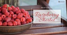 Enjoy a delicious raspberry sherbet that is tasty, healthy, easy to make and right for all blood types.
